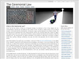 Ceremonial Law.com