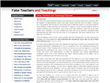FalseTeachersAndTeachings.com