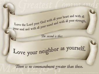 The Great or Greatest Bible Commandments