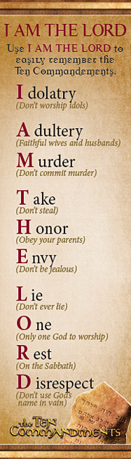 Ten Commandments And What They Mean