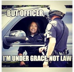 I am under grace not law