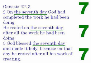 The Sabbath is the seventh day and not everyday