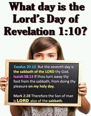What day is the Lord's day?